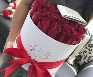 amor, flores, and rosas image