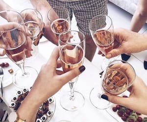 champagne, happy, and summer image
