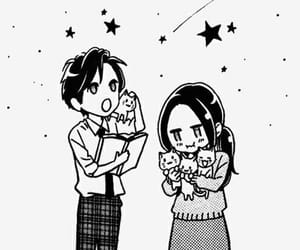 manga, hirunaka no ryuusei, and kawaii image