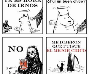 triste, mini comic, and perritos image