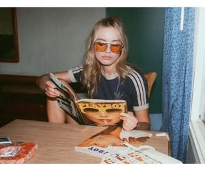 girl, 90s, and vintage image