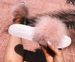 pink, shoes, and slippers image