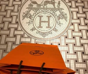 hermes, luxury, and shopping image