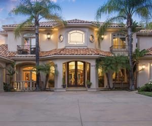 beautiful, house, and luxury image