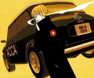 anime, gif, and acca 13 image