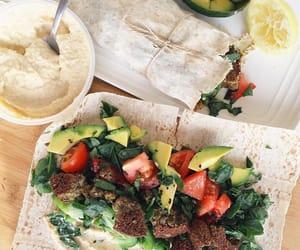 food, vegetarian, and dinner image