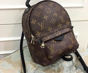 backpack, bag, and Louis Vuitton image
