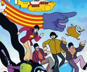 beatles, cover art, and graphic novel image