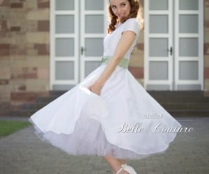 bride, heels, and modest image