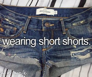 quote, shorts, and text image