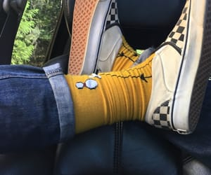 shoes, socks, and vans image