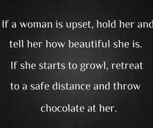 chocolate, woman, and funny image