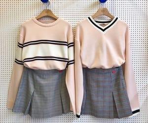 fashion, knit, and korean fashion image