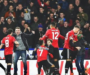 football, manchester united, and red devils image