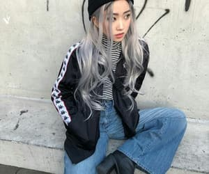 asian, fashion, and hair image