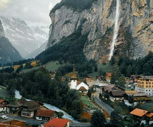 beauty, switzerland, and travel image