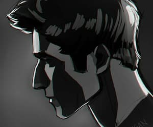 art, teen wolf, and scott mccall image
