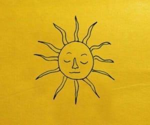 mustard, sun, and mustard aesthetic image