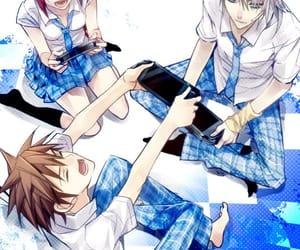 anime girl, handsome, and kingdom hearts image