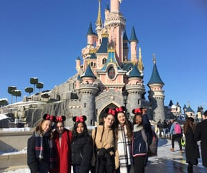 besties, blue skies, and disney image
