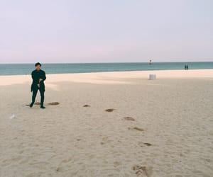 beach, kpop, and jung hoseok image