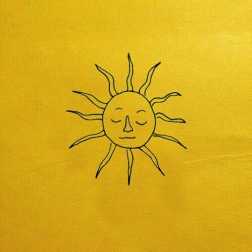 yellow, sun, and aesthetic image