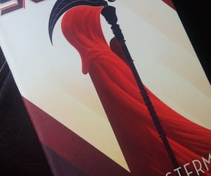 book, scythe, and neal shusterman image