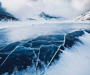 blue, ice, and nature image