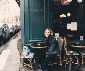 blonde, cafe, and cool image