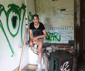 aesthetic, graffiti, and summer image