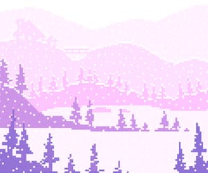 pink, pixel, and gif image