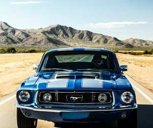 mustang classic image