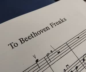 Beethoven, classic music, and funny image