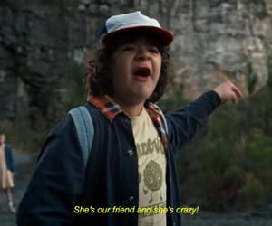 stranger things, eleven, and dustin image