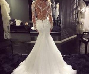 fashion, girl, and wedding dress image