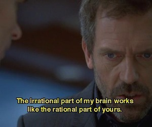 brain, hugh laurie, and tv image