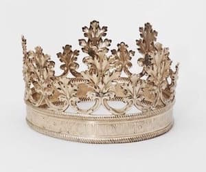 crown, gold, and aesthetic image