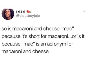 fact, food, and macaroni image