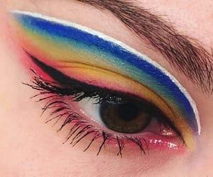 brow, make up, and makeup image