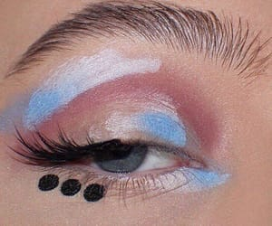 makeup, aesthetic, and pastel image