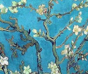 header, blue, and art image