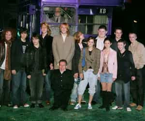 cast, film, and harry potter image