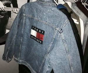 fashion, jacket, and tommy image