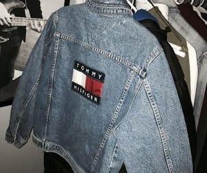 fashion, jacket, and tommy image