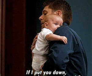 baby, dean winchester, and Jensen Ackles image