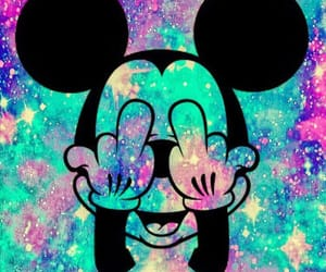 aesthetic, disney, and galaxy image