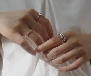 hands, rings, and aesthetic image