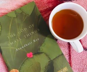 books, peace, and tea image