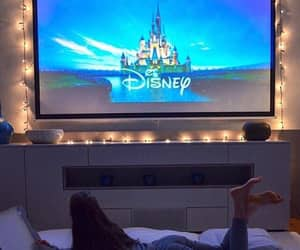 girl, tv, and disney image