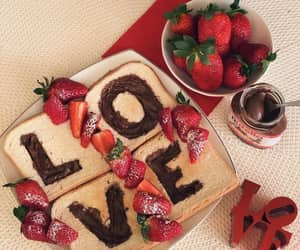 food, strawberry, and tasty image